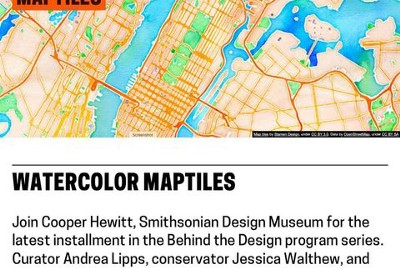 Save the date! Stamen & Smithsonian in dialogue about museums & maps