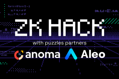 ZK Hack Puzzle Partners: Anoma and Aleo