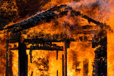 What's it Like to See Your House Burning in Front of You?