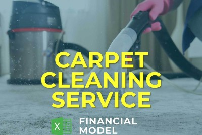 Carpet Cleaning Financial Model Excel Template