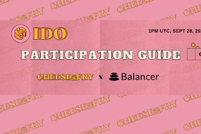 $CHEESE IDO on Balancer—How to Participate