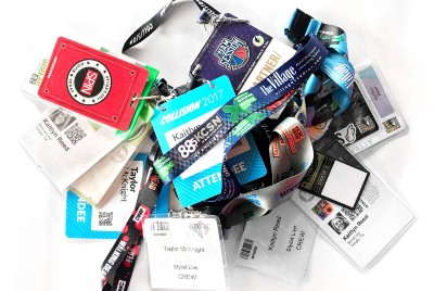 What Should Go On Your Conference Badge According to the Experts