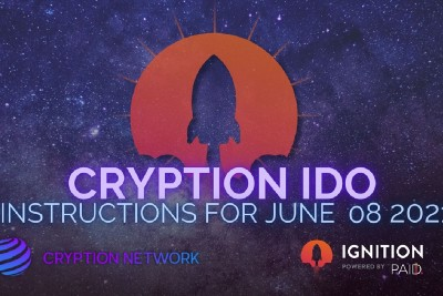 Cryption: Whitelist Lottery Winners and IDO Details