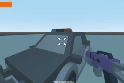 Vehicle mode for FPS games with Godot Engine