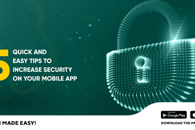 5 Quick and easy tips to increase security on a mobile app