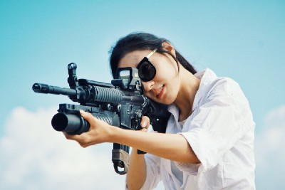 """I'm a """"Hippie Liberal"""" Mom and No One Knows I Own Guns…Until Now"""