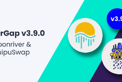 AirGap v3.9 adds support for Moonriver & integrate QuipuSwap for a flawless swapping experience