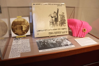 Hart Cluett Museum and Piloting a Smithsonian Traveling Exhibition