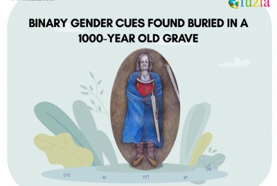 Non-Binary Gender Cues Found Buried in a 1000-year-old Grave.