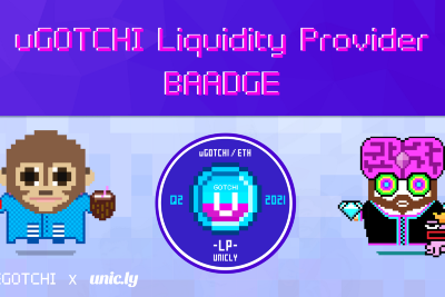 How to Earn an Exclusive uGOTCHI LP Baadge for your Aavegotchis!