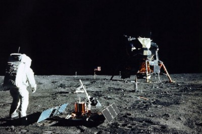 Prince Philip should have fished, not shot, when questioning the Apollo astronauts.