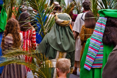 Being and Doing: Palm Sunday and Liturgy as God's Artistry