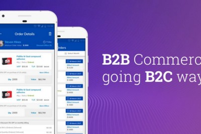 5 Reasons Why B2B Mobile Commerce is Going the B2C Way