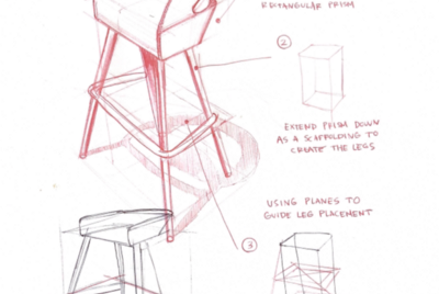 Why you should draw the same product design sketch in different ways