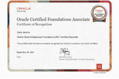 Passed My Oracle Cloud Foundations Associate Recertification Exam