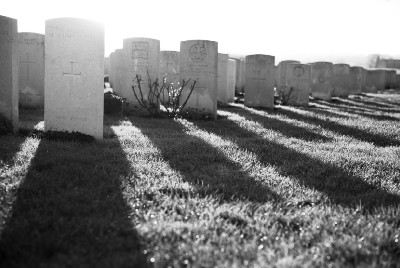 We Only Get to Walk Away From a Cemetery So Many Times