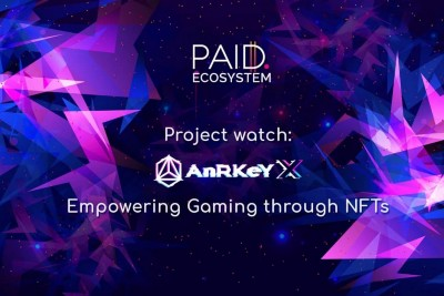 Project Watch: AnRKey X—Empowering The Gaming Industry With NFTs