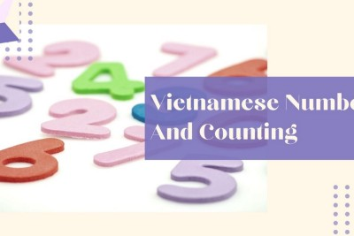 Vietnamese Numbers And Counting From 1 To A Million