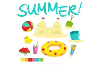 Sunday Snippets: Hello summer! And new rubber stamps