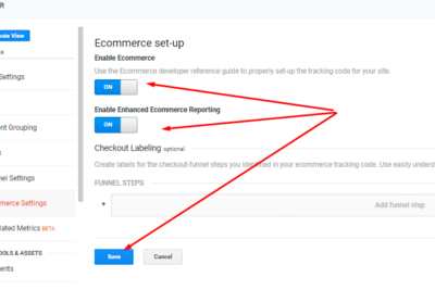 eCommerce tracking with google tag manager (GTM) and push ecommerce Datalayer via GTM