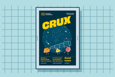 Hot off the digital press: CRUX#2 is here!