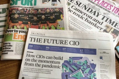 The Future CIO Supplement in the Sunday Times