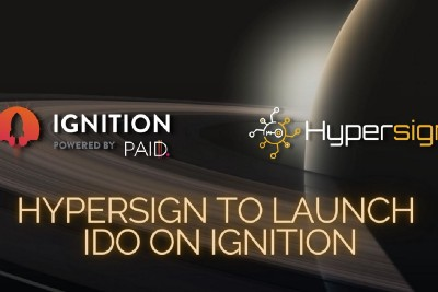 Hypersign to launch IDO on Ignition!