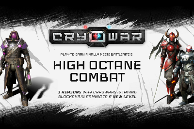Play-to-Earn Finally Meets BattleRite's High Octane Combat and AAA Graphics: Cryowar Taking…