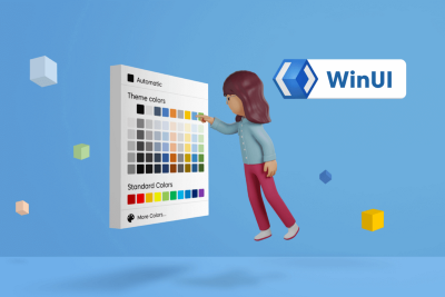 Pick Colors Like a Boss Using Syncfusion Color Controls in WinUI