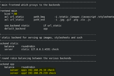Configuring Load Balancer(HAProxy) Dynamically With Ansible