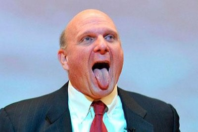 Let's remember when Steve Ballmer became CEO of Microsoft, on this day in 2000 (January 13)