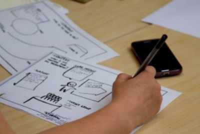 Scribbling as a learning strategy