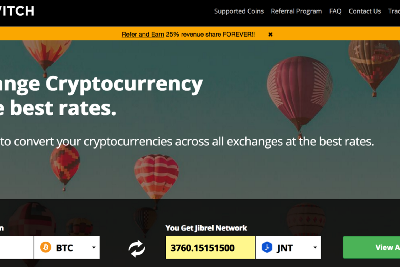 How to buy Jibrel Network (JNT) on CoinSwitch