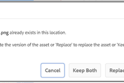 How to identify/handle duplicate assets in AEM(Adobe Experience Manager) Assets?