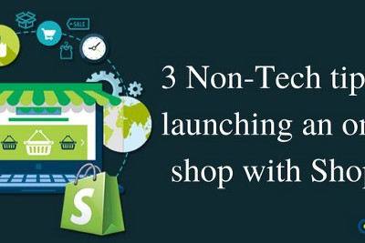 3 non-tech tips for launching an online shop with Shopify.