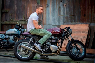 Ryan Reynolds' Motorcycle Collection