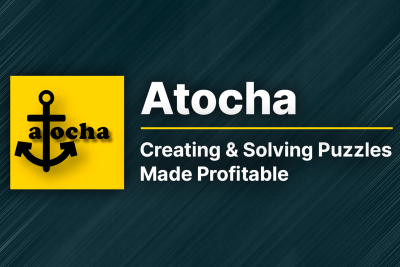 Atocha: Creating and Solving Puzzles Made Profitable