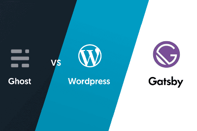 Why should I use GatsbyJS instead of WordPress and Ghost CMS for build my website