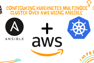 Kubernetes multi-node cluster over AWS using Ansible roles