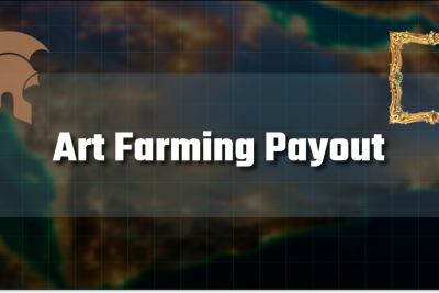 3rd Art Farming Payout Completed