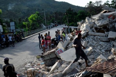 500,000 children are living without proper shelter, food, or clean water after Haiti earthquake