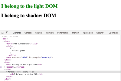 Understanding Web Standards—Shadow DOM and Custom HTML Elements