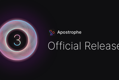 The Official Release of Apostrophe 3.0