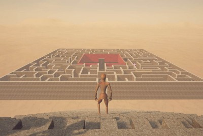 The Art Labyrinth: an artistic and existential journey to experience in 3D
