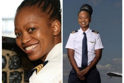 LEDWABA AIMING FOR THE SKIES: Congratulations For The 1st BLACK PILOT.
