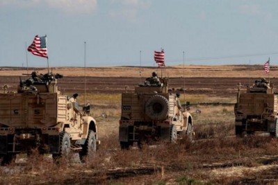 Syria accused US forces to smuggle stolen wheat to Iraq