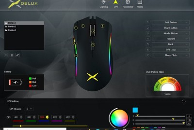Delux 625Plus Gaming Mouse REVIEW | MacSources