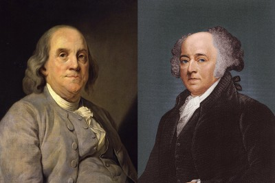 That Time Ben Franklin Slept in the Same Bed With John Adams