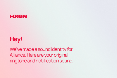 Sound as a gift: how digital agency Hexagon has made sound-identity for clients