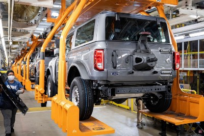 Ford Bronco Sales Are Out Pacing Production